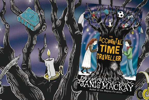Author Interview — Janis Mackay — The Accidental Time Traveller