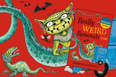 Author Interview — Daniela Sacerdoti — Really Weird Removals.com