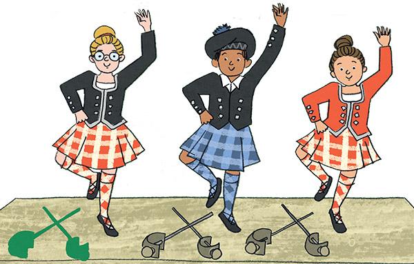 Susana Gurrea A Super Scotland Sticker Book