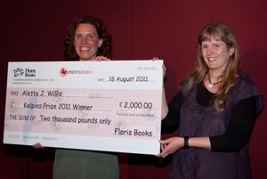 Alette Willis - winner of Kelpies Prize 2011