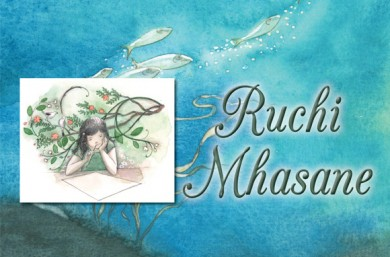 Illustrator interview with Ruchi Mhasane