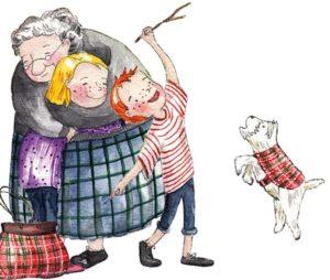 granny-emily-harry-dog