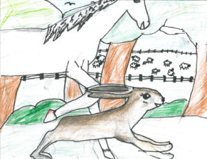 Spellchasers fan art by Eileen from Stromness Primary School