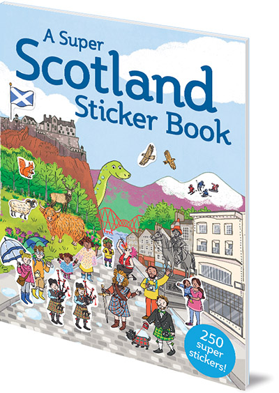 Susana Gurrea A Super Scotland Sticker Book