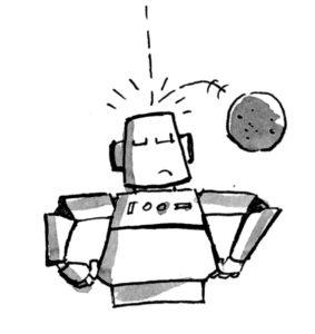 Indestructible armour robot