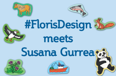 #FlorisDesign meets Susana Gurrea