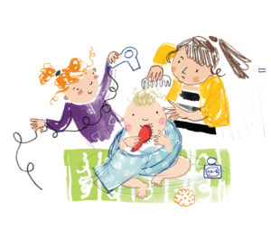 The Fourth Bonniest Baby in Dundee illustration