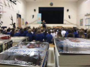 Author Visit - Lari Don visits Biggar Primary