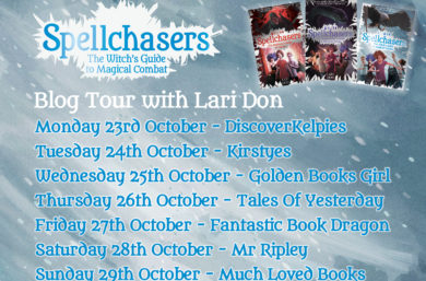 Lari Don's Blog Tour - Spellchasers Q and A