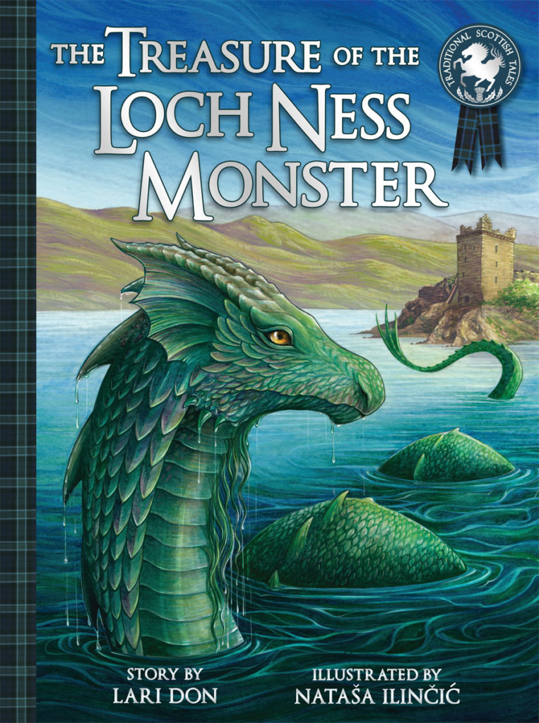 The Treasure of the Loch Ness Monster cover