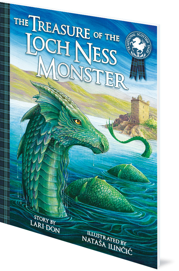 The Treasure of the Loch Ness Monster - mythical monsters