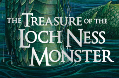 The Treasure of the Loch Ness Monster: Cover Reveal!