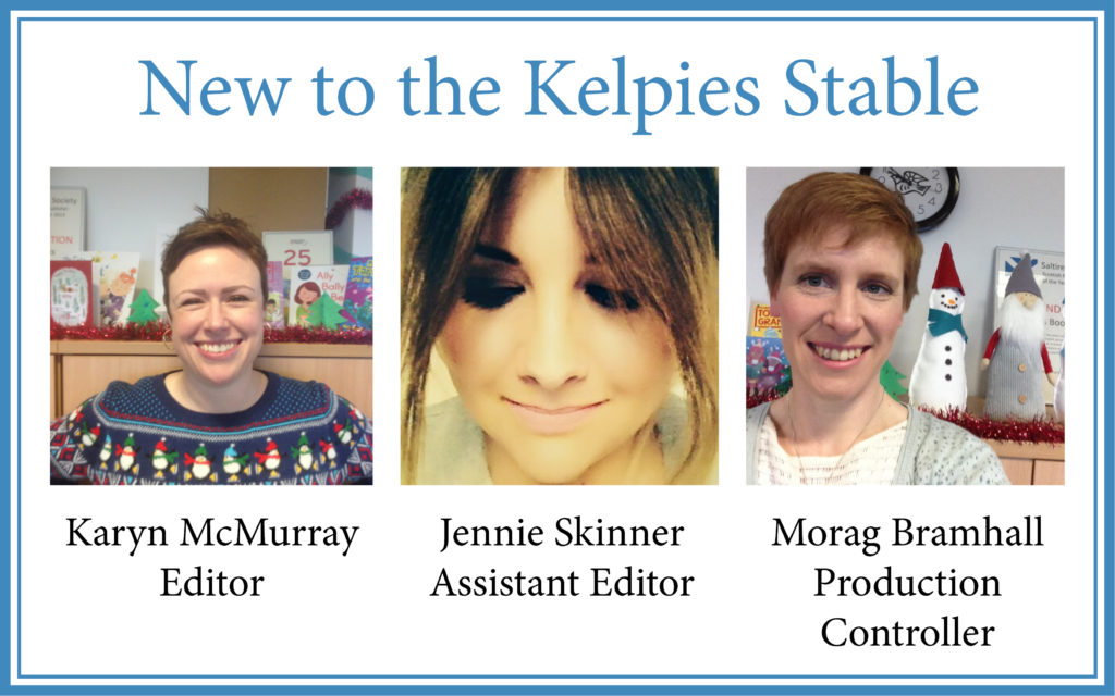2017 highlights - New Kelpies team members