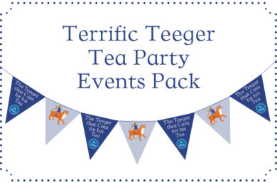 Features For Teachers - A Terrific Teeger Tea Party Events Pack