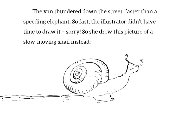 What Makes a Funny Book - Snail
