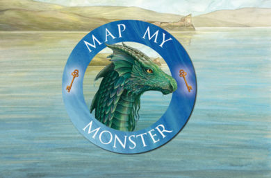 Enter our Map My Monster competition!