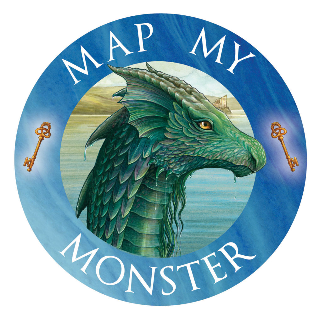 Map My Monster - mythical monsters - art competition