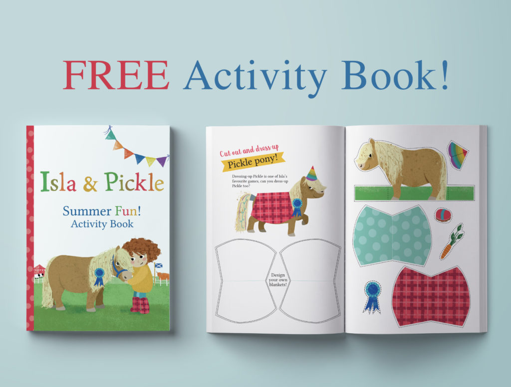 Activity Pack - Isla & Pickle - Kate McLelland