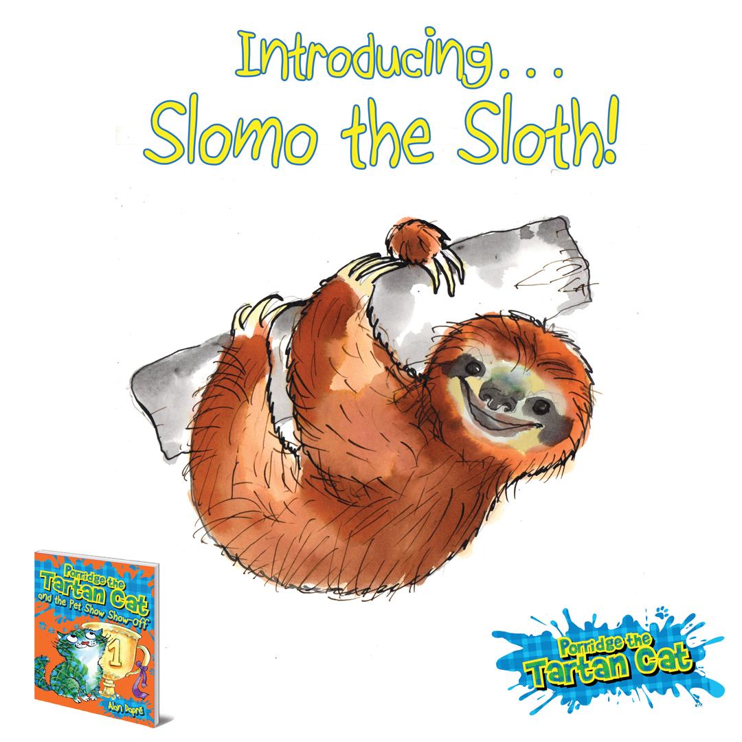 Pet Show Show-Off - introducing Slomo
