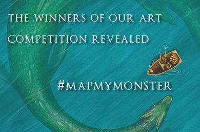 Announcing the winners of the Map My Monster Competition...