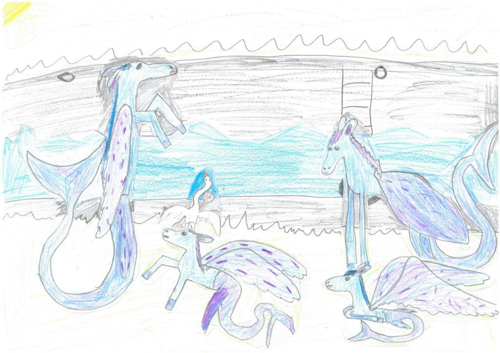 Map My Monster Art Competition Winner