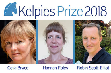 Kelpies Prize 2018 shortlist