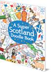 Super Scotland Doodle Book