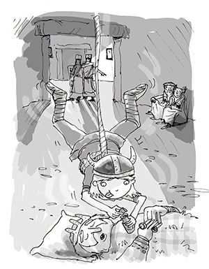 Illustration from Thorfinn and the Putrid Potion