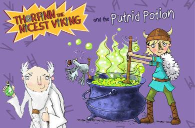 Thorfinn the Nicest Viking: Piebald's Potion Maker
