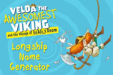 Velda's Viking Longship Name Generator
